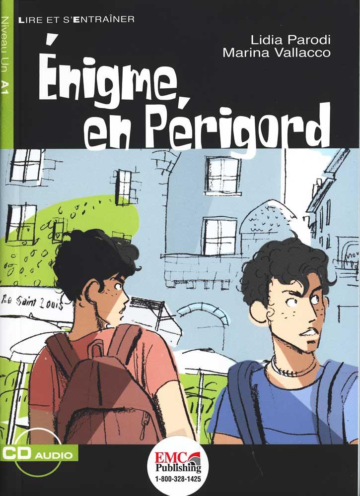 Enigme en Perigord Reader + Audio CD Niveau Un A1