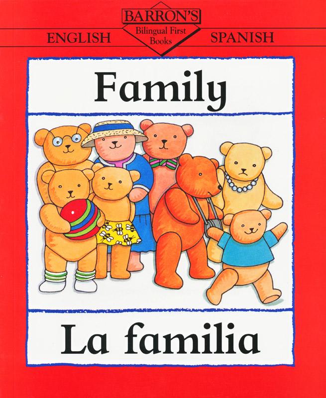 Barrons Spanish Family Book