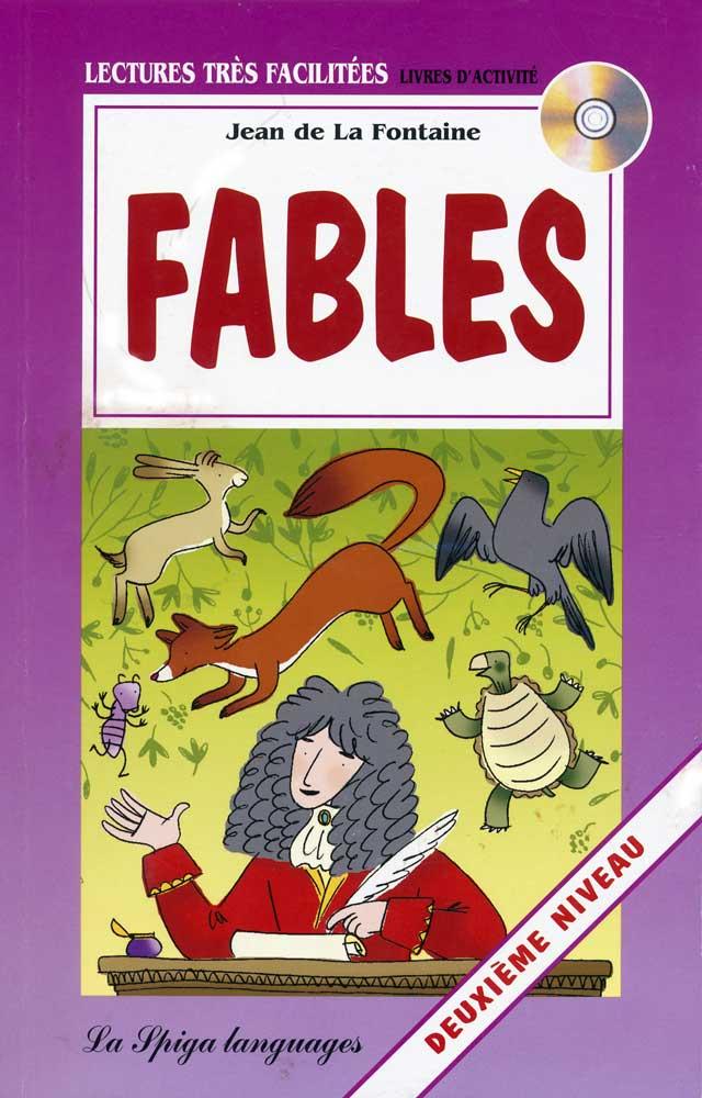 Fables French Reader + Audio CD Deuxiéme Niveau
