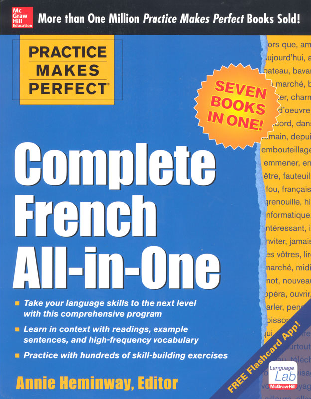 Practice Makes Perfect: Complete French All-in-one Exercise Book
