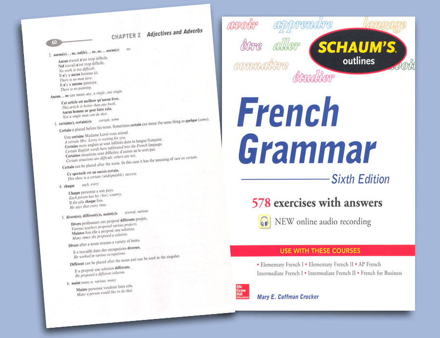 Schaum's Outlines French Grammar Workbook