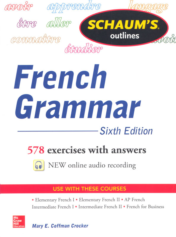Schaum's Outlines French Grammar Workbook
