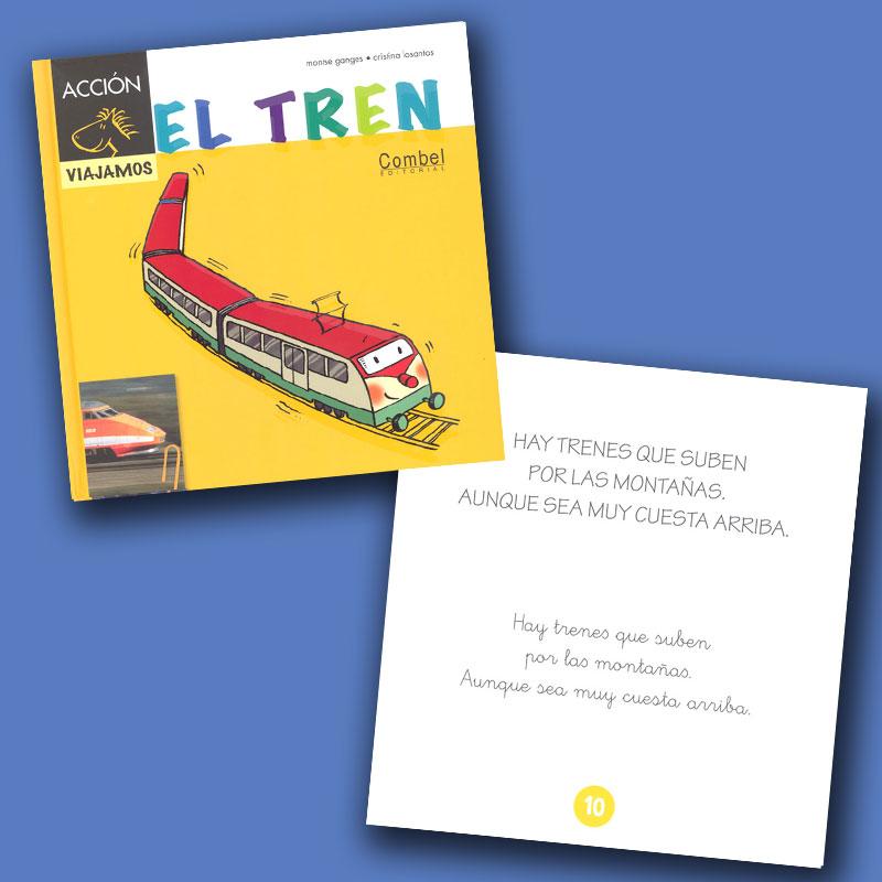 El tren Spanish Storybook
