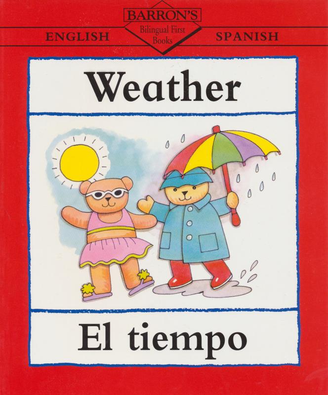 Weather Spanish Book