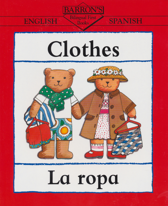 Clothes Spanish Book
