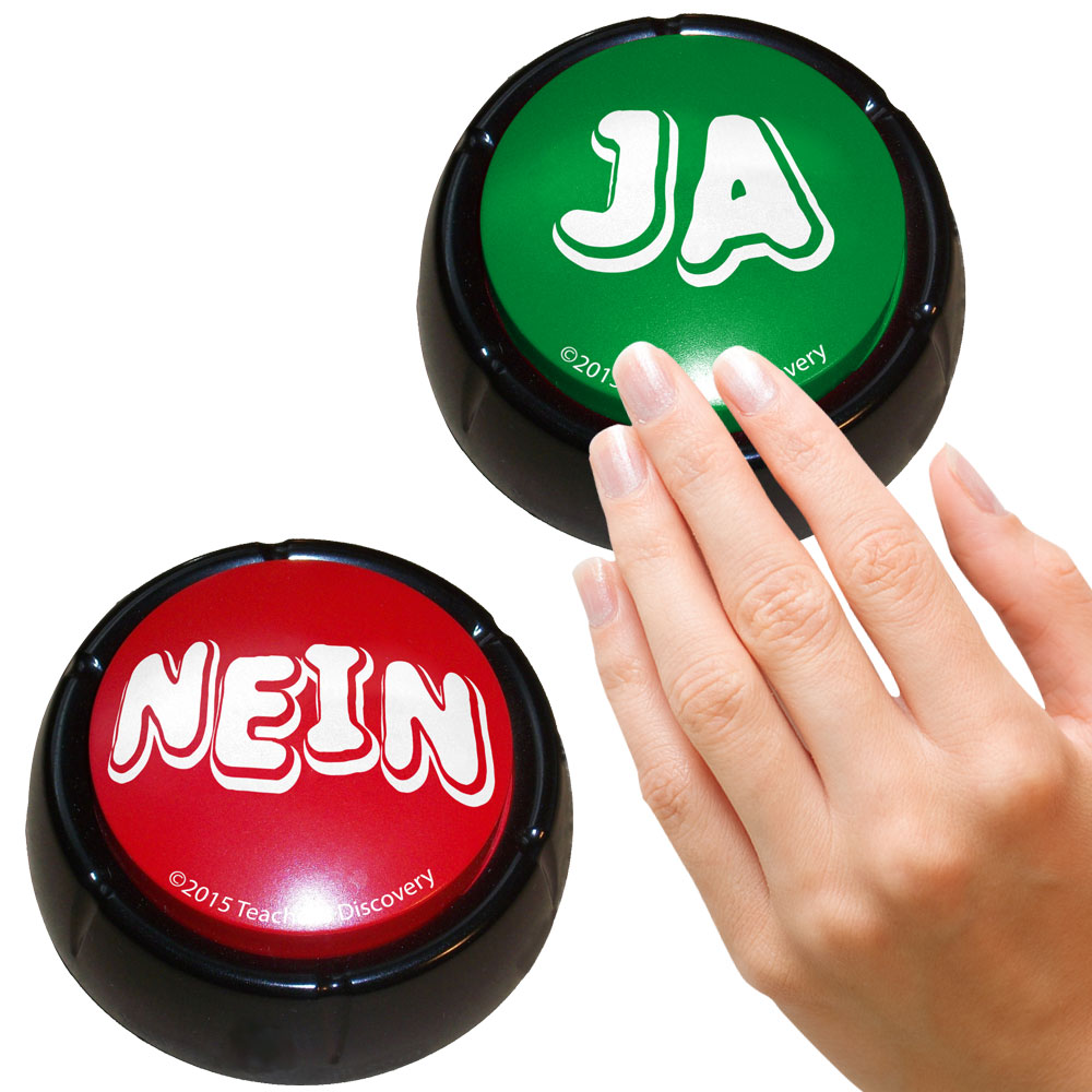 "German ""YesNo"" Buzzers Set of 2"