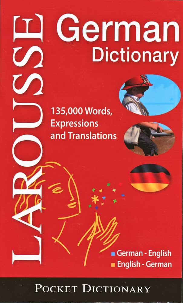 Larousse German Pocket Dictionary