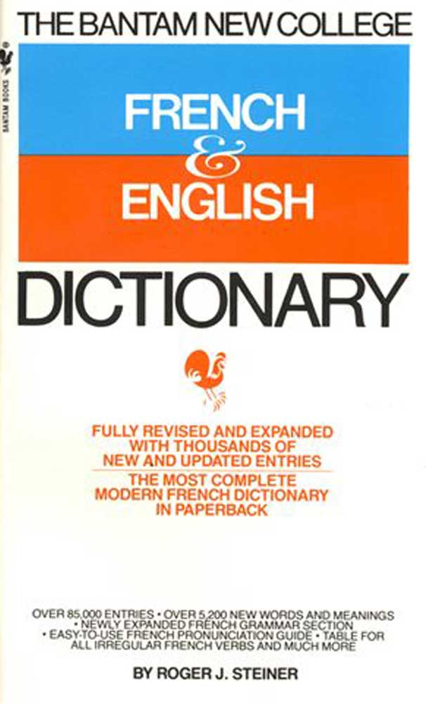 Bantam French College Edition Dictionary