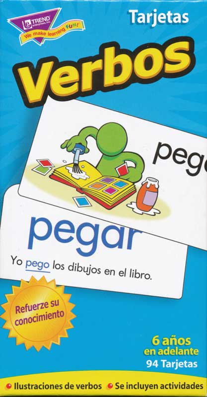 Verbos Spanish Flash Cards