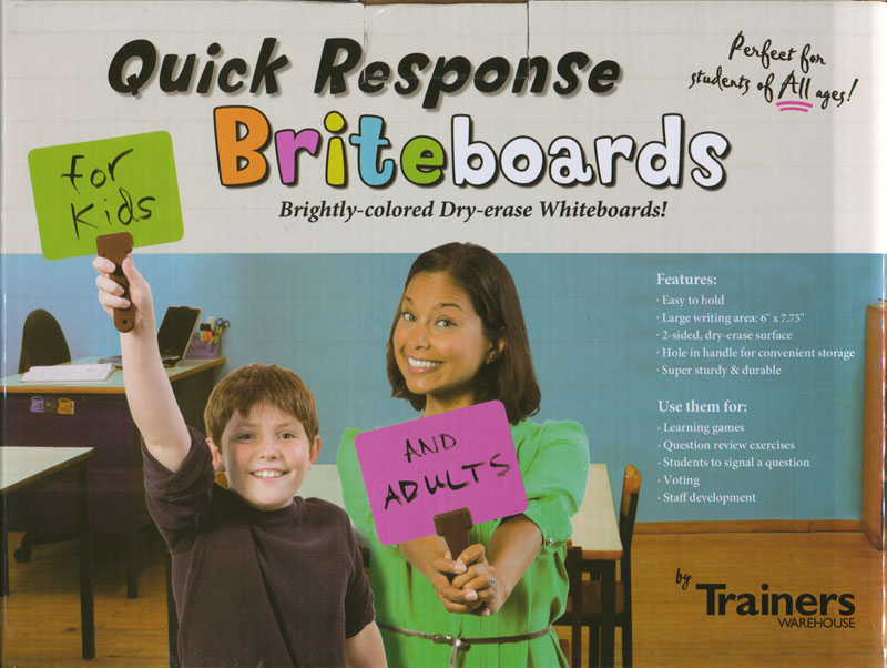 Quick Response Brite Boards