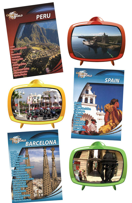 Cities of the World Spanish Set of 3 DVD Downloads