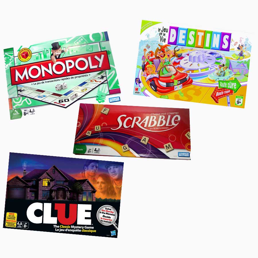 French Classroom Favorites Set of 4 Games