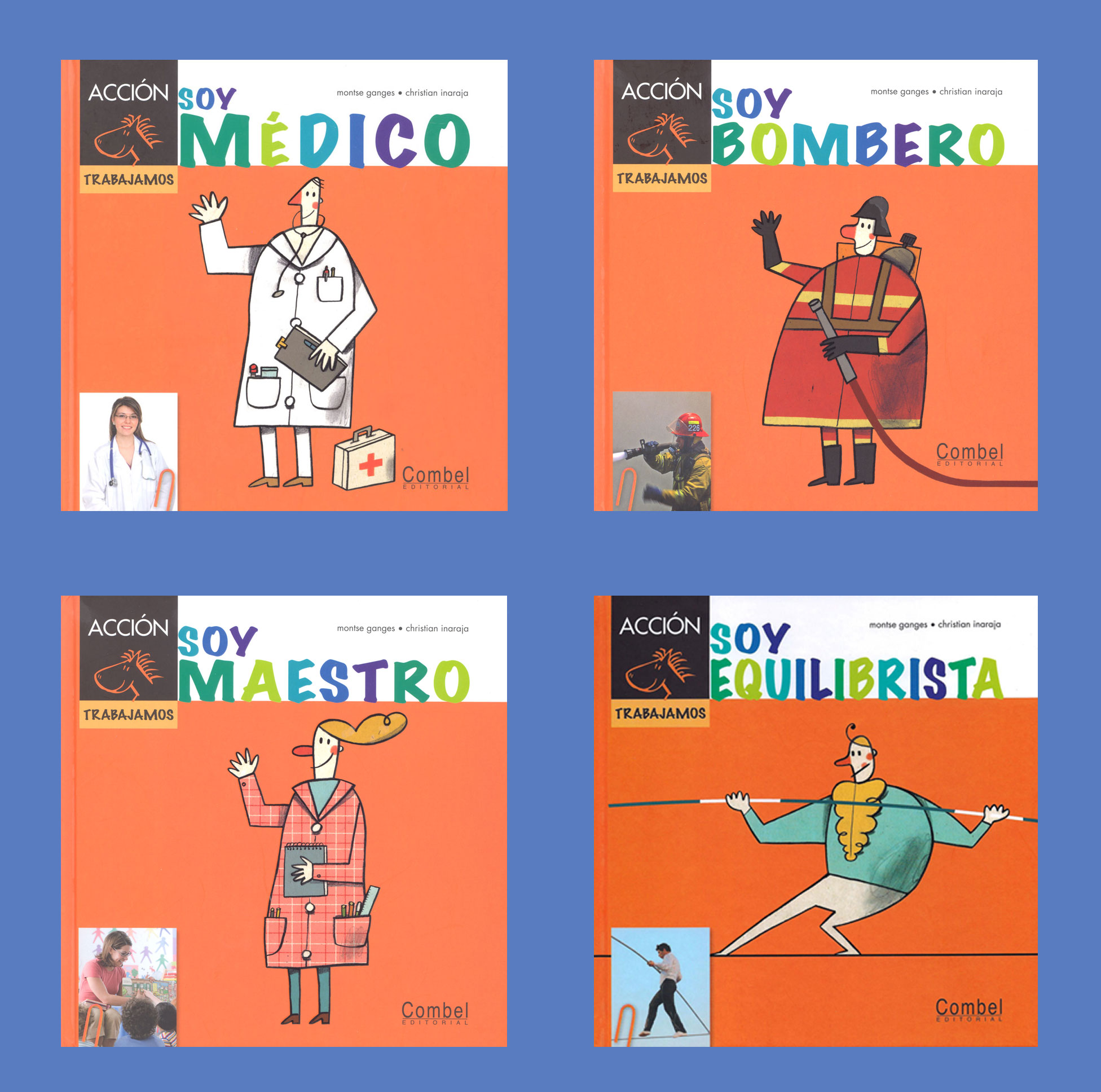 Occupations Spanish Storybooks Set of 4