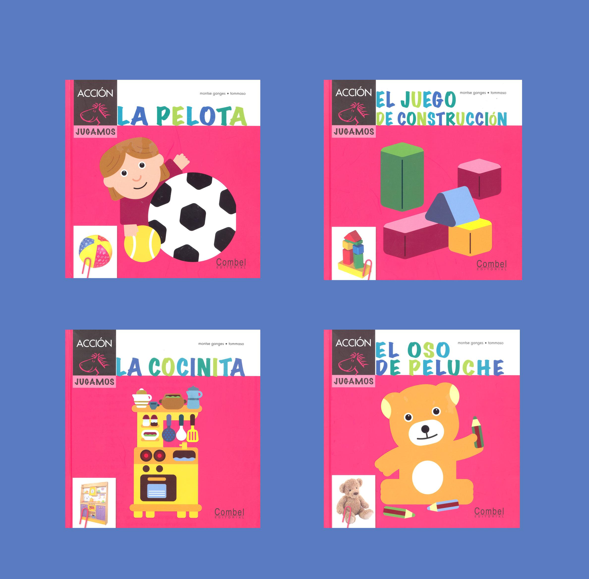 Toys Spanish Storybooks Set of 4