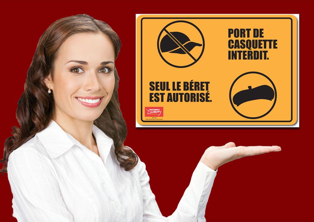 No Caps, Only Berets Mini-Poster