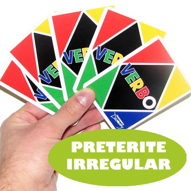 Verbo™ Spanish Card Game Preterite Tense Irregular Verbs