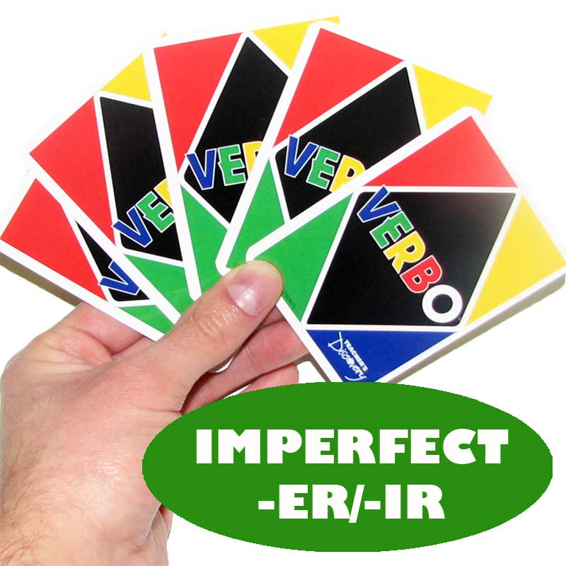 Verbo™ Spanish Card Game Imperfect -ER/IR Verbs