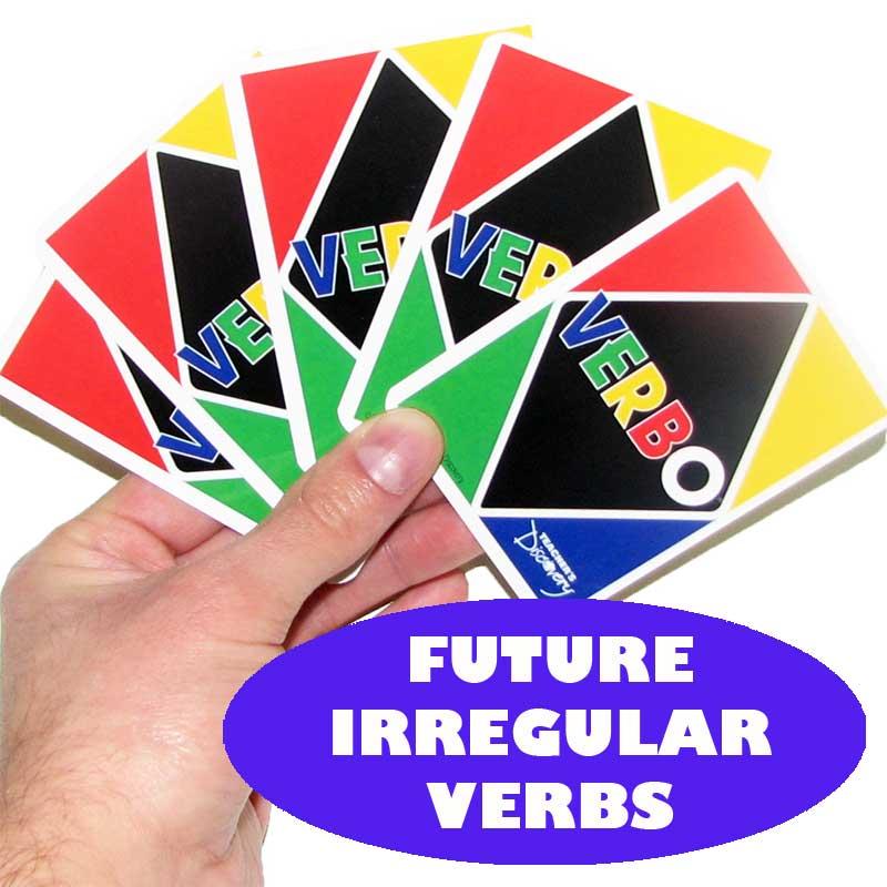 Verbo™ Spanish Card Game Future Tense Irregular Verbs