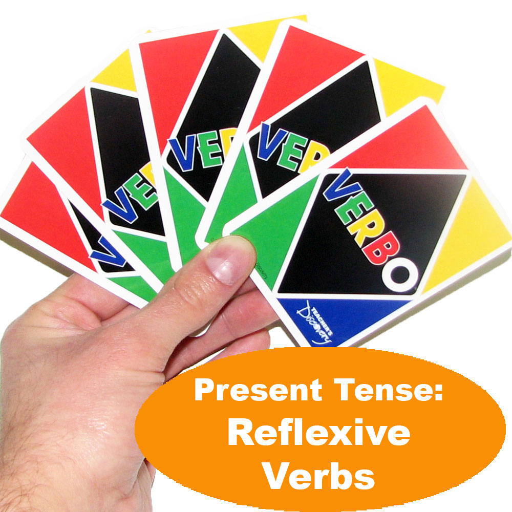 Verbo™ Spanish Present Tense: Reflexive Verbs Game