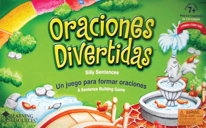 Oraciones Divertidas / Silly Sentences Game