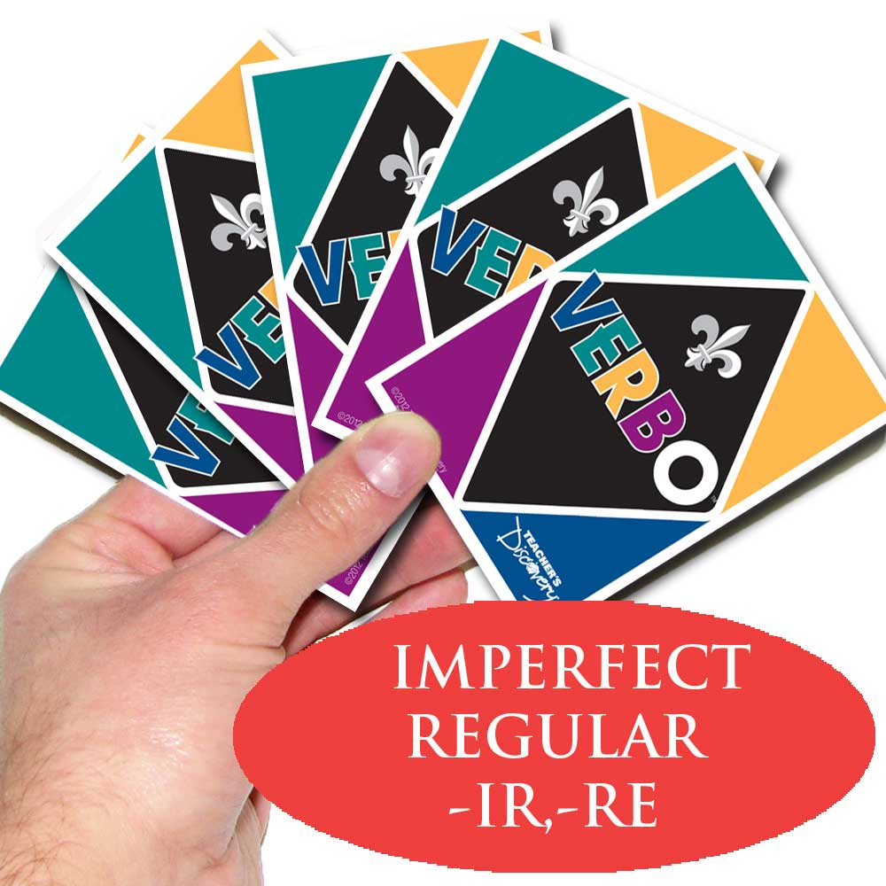 Verbo™ French Card Game –RE, –IR Imparfait Tense Verbs