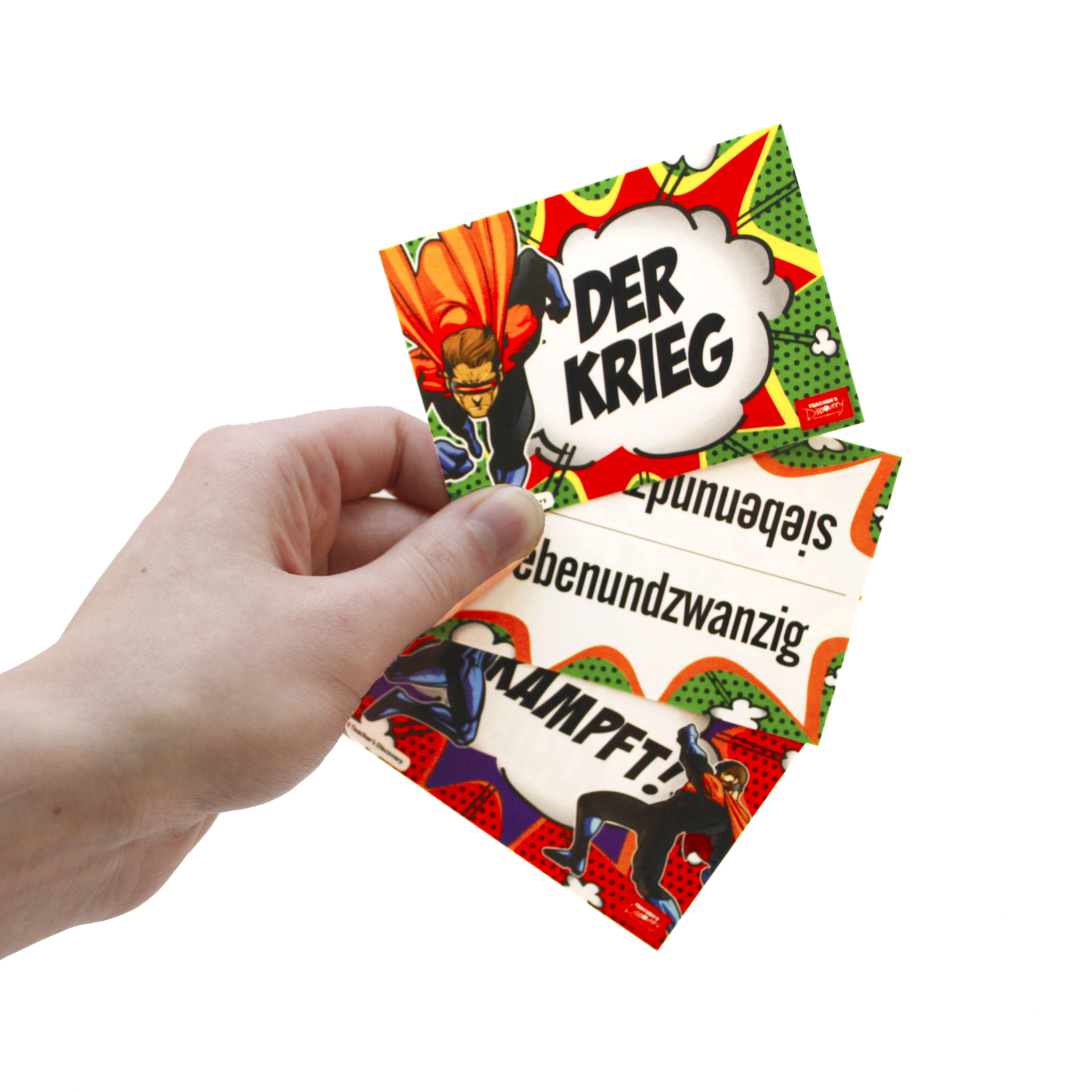 Der Krieg German Numbers Card Game