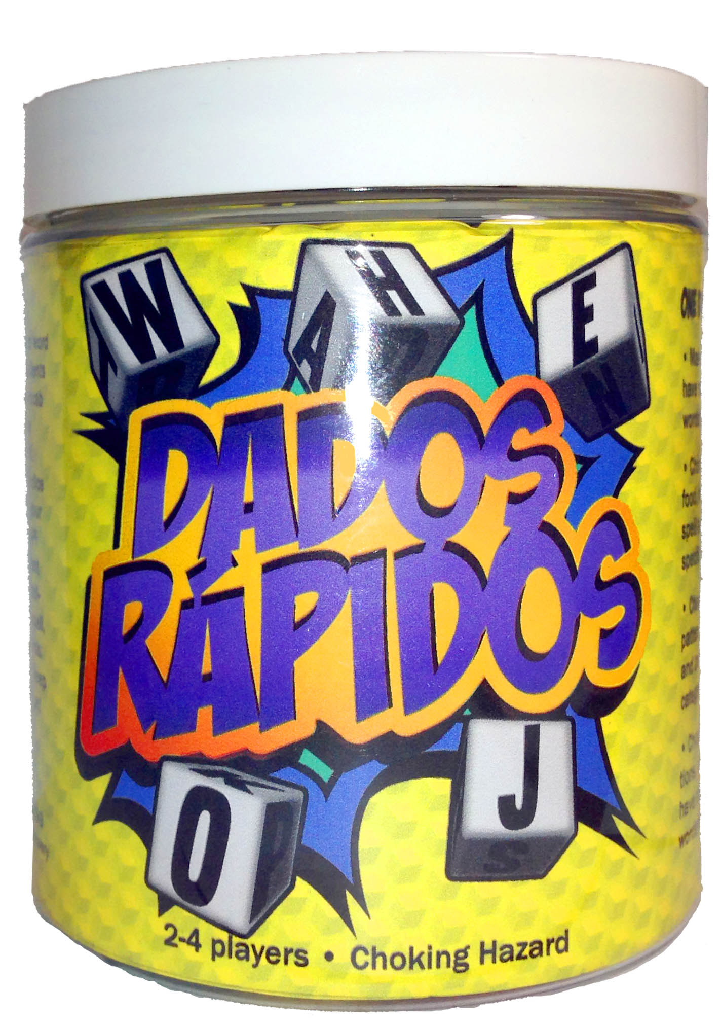Dados Rápidos The Spanish Word Game