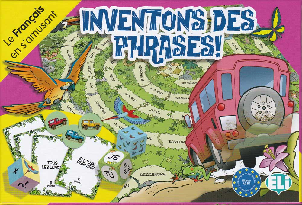 Inventons des phrases ! French Board Game