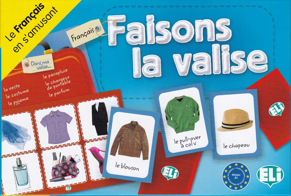 Faisons la Valise French Game