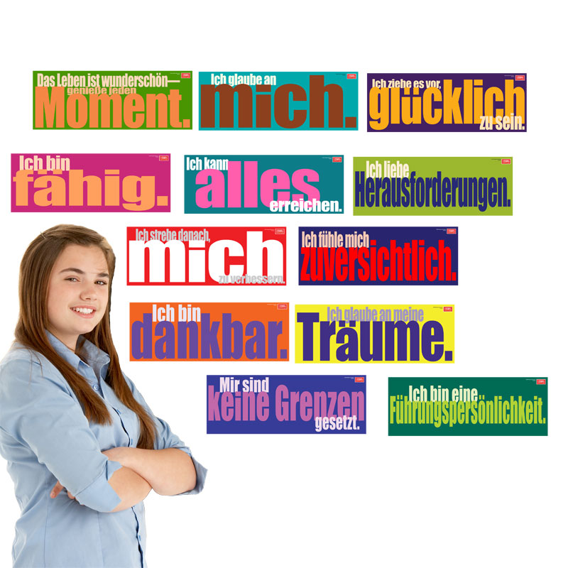 Inspired Minds German Set of 12 Signs