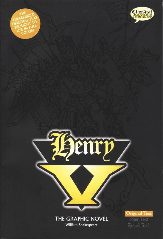 Henry V Classical Comics Original Text