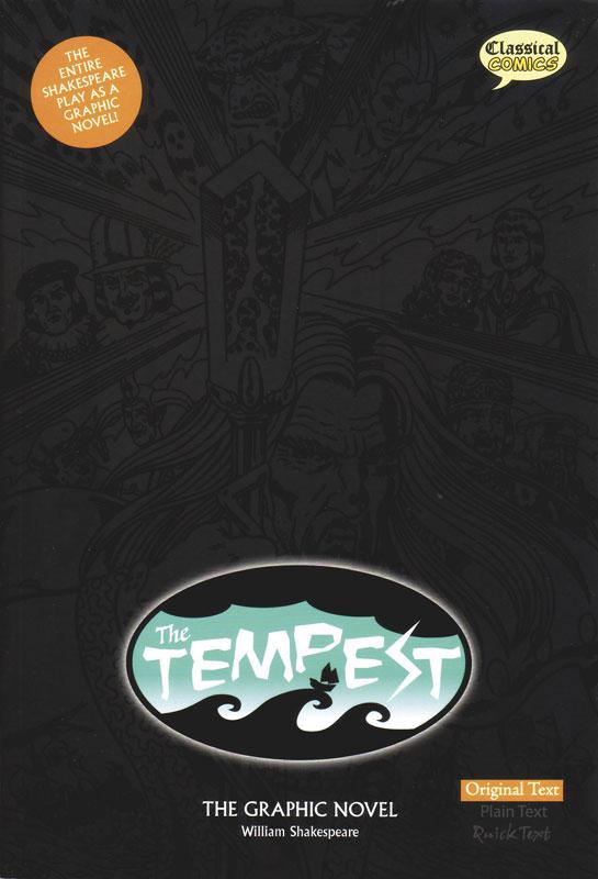 The Tempest Classical Comics Original Text