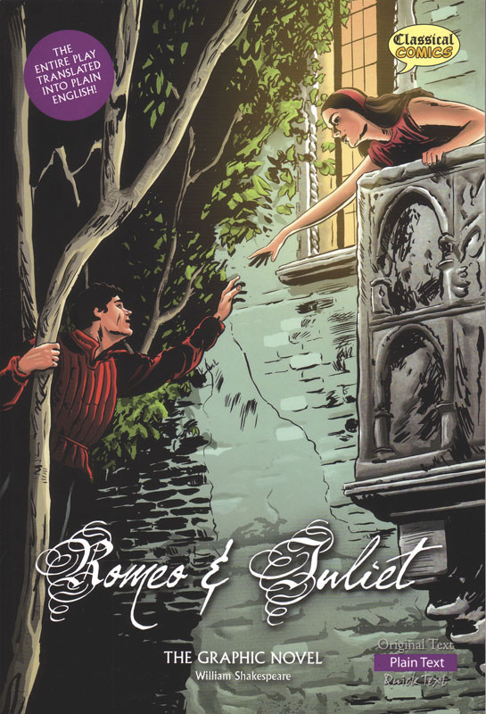 Romeo and Juliet Classical Comics Plain Text (600L)
