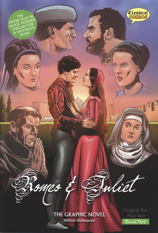 Romeo and Juliet Classical Comics Quick Text (380L)
