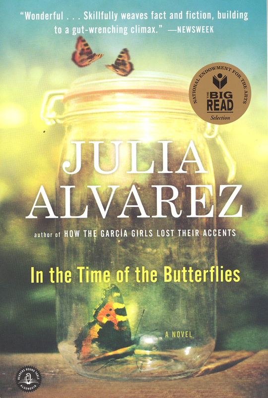 In the Time of the Butterflies Paperback Book (910L)