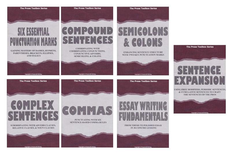 Prose Toolbox Series ~ Set of 7 Teaching Units