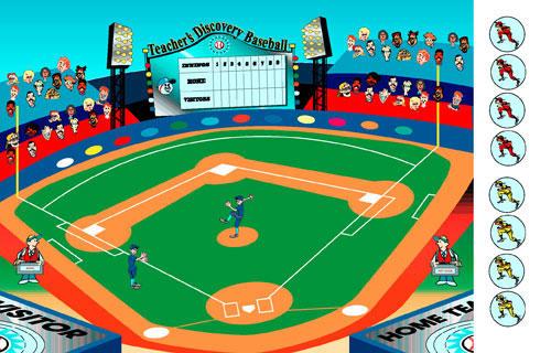 Grammar Baseball Game