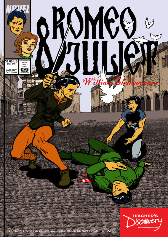 Romeo and Juliet Graphic Novel Poster
