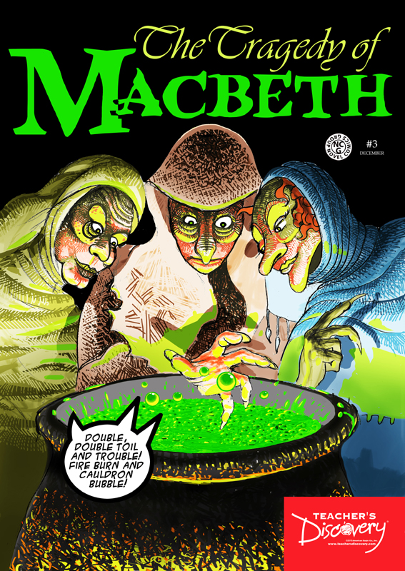 The Tragedy of Macbeth Graphic Novel Poster