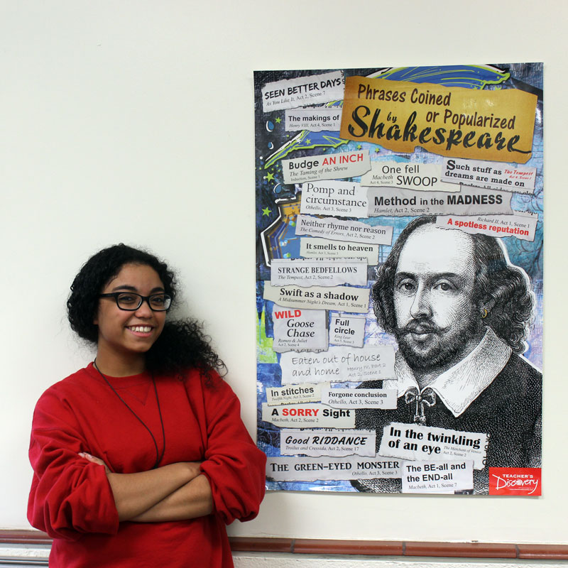 Phrases Coined or Popularized by Shakespeare Poster