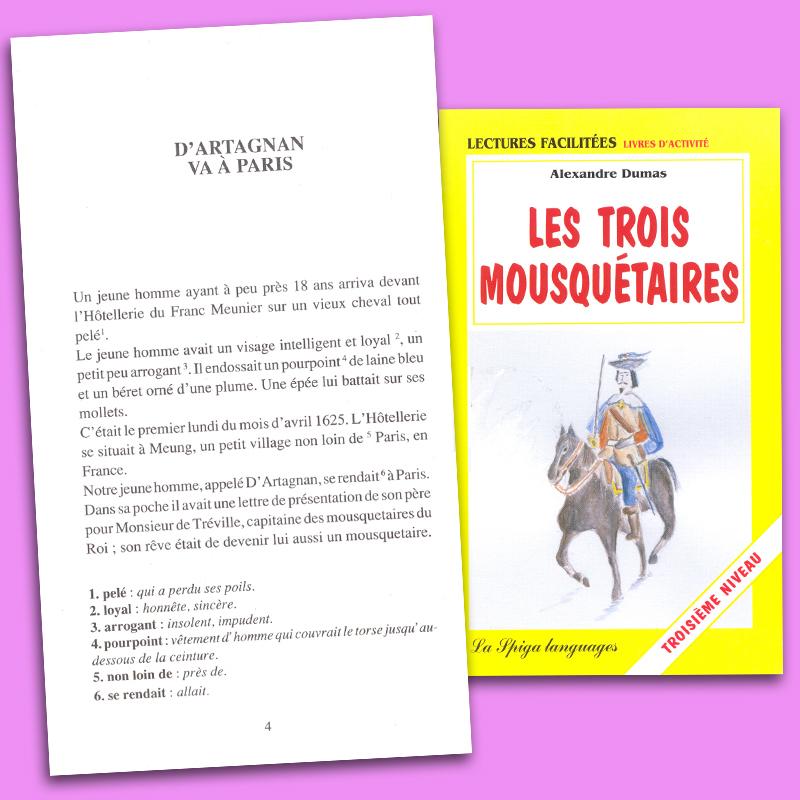 Les Trois Mousquétaires French Reader Troisième Niveau