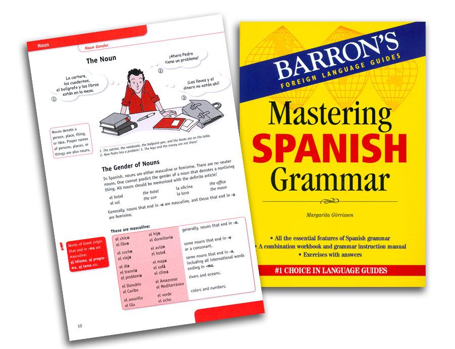 Barron's Mastering Spanish Grammar Book