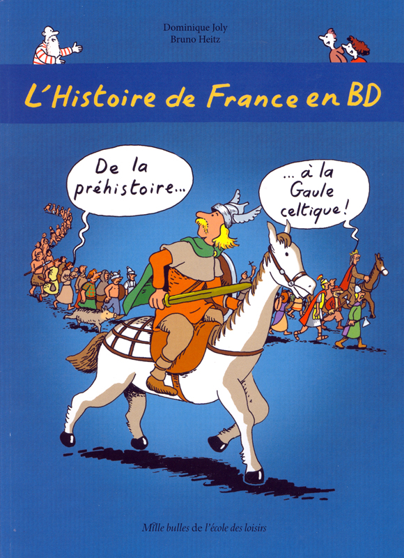 L'Histoire de France en BD Volume 1 Graphic Novel