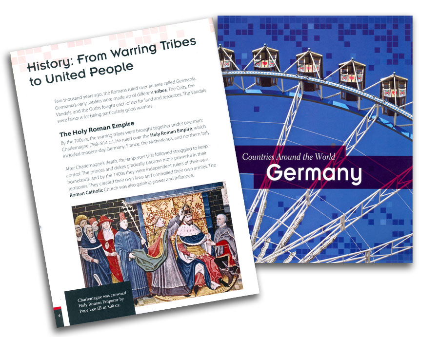 Countries Around the World Germany Book