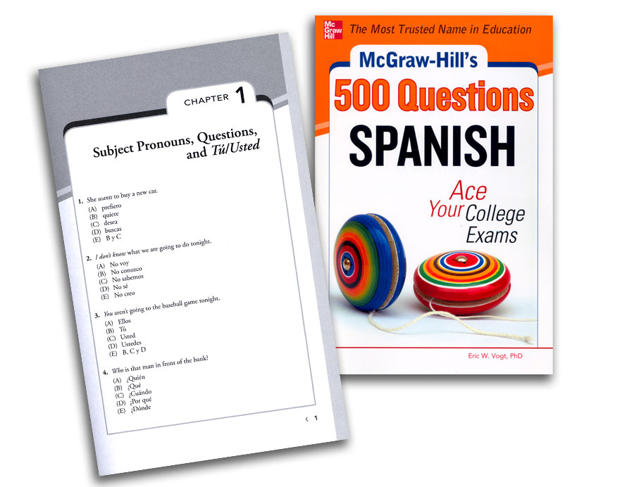 500 Questions Spanish Book