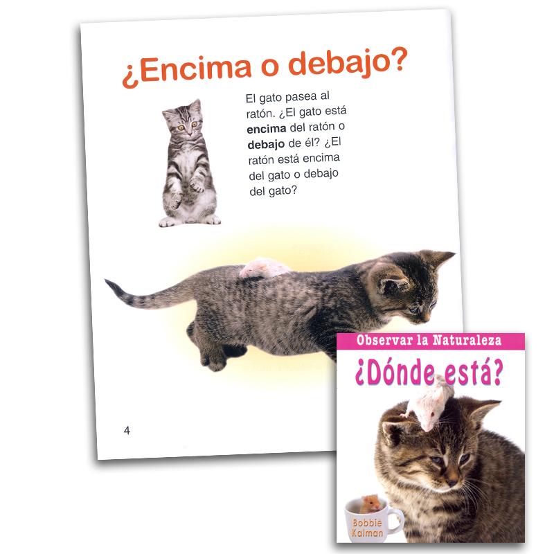 Observar la naturaleza ¿Dónde está? Spanish Book