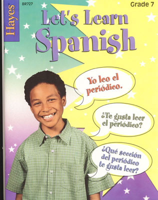 Let's Learn Spanish Grade 7 Book