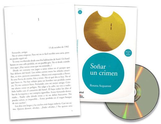 Soñar un crimen Spanish Reader & CD