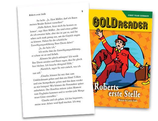Robers Erste Stelle German Reader
