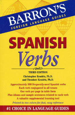 Barron's Spanish Verbs Book